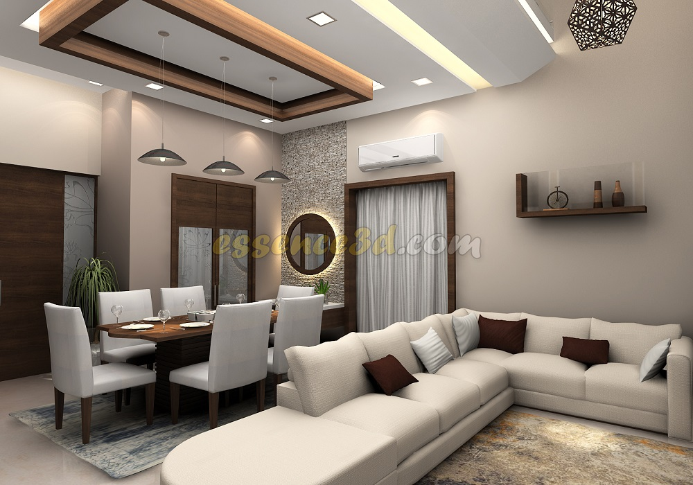 Drawing Living Dining